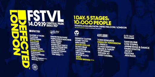 Defected London FSTVL 2019