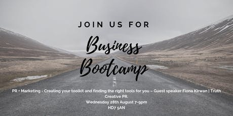 Cut Through The Noise: Business Bootcamp - PR tickets