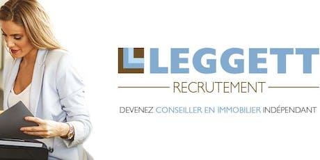 Leggett Immobilier Journée d'Information - Angoulême 16000 billets