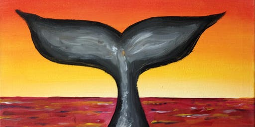 Paint & Sip with 2 jugs for 2 people XXXX Brewery Whale Tail
