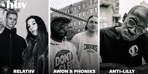 Awon & Phoniks, Anti-Lilly, Relatiiv // Badehaus Berlin