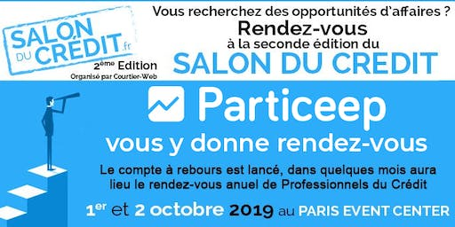 Particeep au Salon du Crédit au Paris Event Center les 1er et 2 octobre