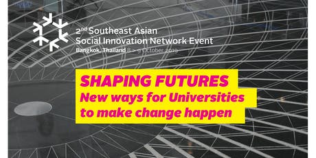 SHAPING FUTURES - NEW WAYS FOR UNIVERSITIES TO MAKE CHANGE HAPPEN tickets