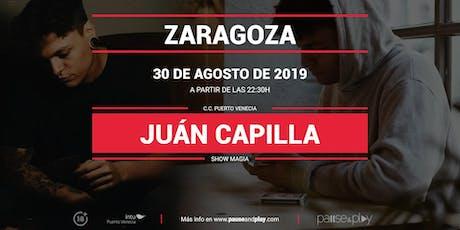 Show Magia Juan Capilla en Pause&Play Intu Puerto Venecia entradas