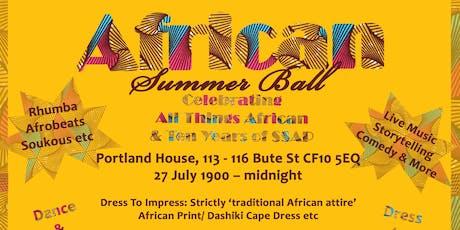 African Summer Ball - #SSAP@10 tickets