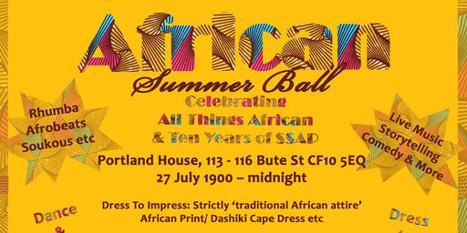 African Summer Ball - #SSAP@10