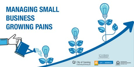 Small Biz Growing Pains -Design to Grow tickets