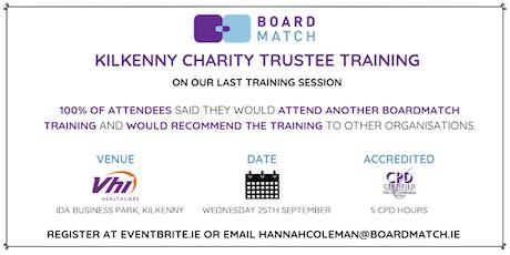 Boardmatch: Kilkenny Charity Trustee Training (CPD Certified) tickets