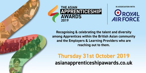 The Asian Apprenticeship Awards 2019 in Association with RAF