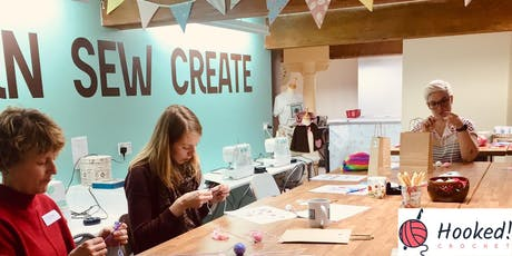 Hooked! Crochet Taster Session for Beginners - School of Sew Farsley Leeds tickets