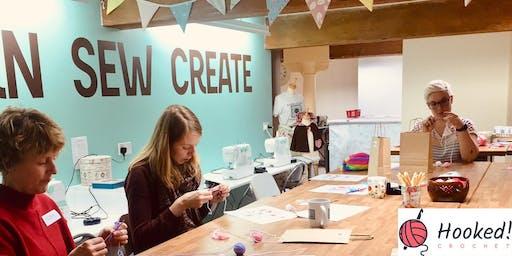 Hooked! Crochet Taster Session for Beginners - School of Sew Farsley Leeds