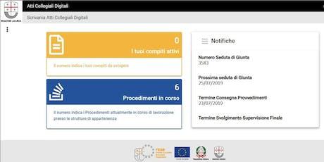 Atti Collegiali Digitali Regione Liguria - Edizione 2 - Settembre 2019 biglietti