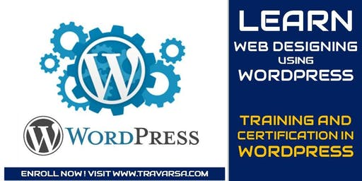 WebDesigning using WordPress