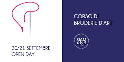 Workshop di Broderie d'Art (ricamo)