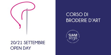 Workshop di Broderie d'Art (ricamo) biglietti