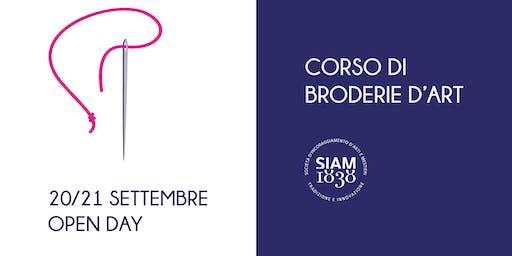 Workshop di Broderie d'Art (ricamo)