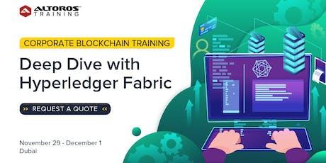 Corporate Blockchain Training: Deep Dive with Hyperledger Fabric [Dubai] tickets