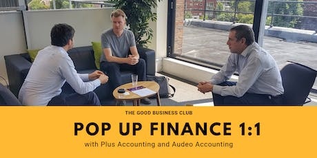 Pop Up Finance 1:1 with Plus Accounting and Audeo Accounting tickets