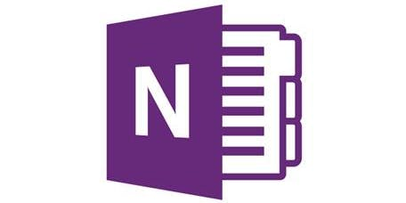 Microsoft OneNote - Getting started - half day course (Group 2)