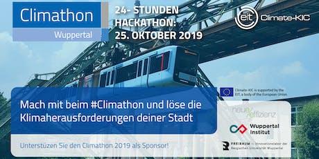 Climathon Wuppertal Tickets