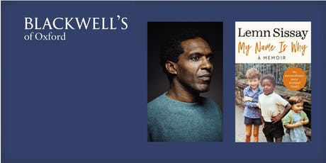 My Name is Why - Lemn Sissay in conversation with Derek Owusu tickets