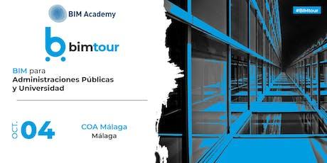 BIMtour: BIM para Administraciónes Públicas en Málaga tickets
