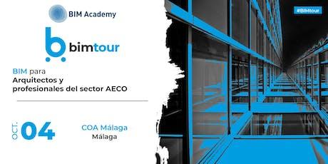 BIMtour: BIM para Arquitectos y profesionales del sector AECO en Málaga tickets