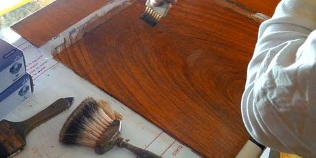 Wood Graining Weekend Course. ICON Gilding & Decorative Surfaces Group. tickets