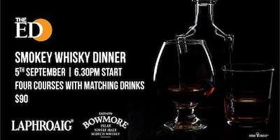 The Edinburgh Hotel Peated Whisky Dinner