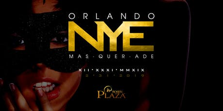 Orlando New Year's Eve 2020 - The Masquerade tickets