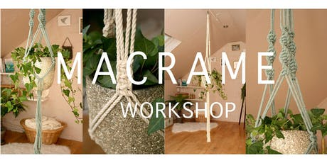 Macrame Double Plant Hanger Workshop - Beginners tickets