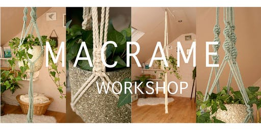 Macrame Double Plant Hanger Workshop - Beginners
