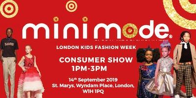 Mini Mode London Kids Fashion Week AW19 | Consumer Show (Matinee)