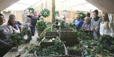 Holly Wreath Workshop With Jacky & Peter | 8th Workshop