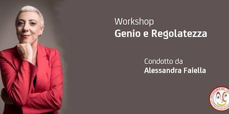 Workshop Genio e Regolatezza biglietti
