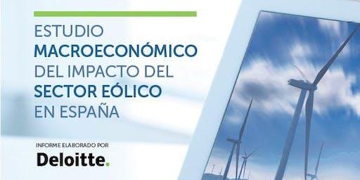 Presentación Estudio Macroeconómico del Impacto del Sector Eólico en España. Datos 2018