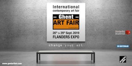 Ghent ART FAIR tickets