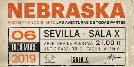 Concierto NEBRASKA en Sevilla entradas