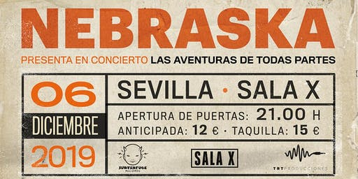 Concierto NEBRASKA en Sevilla
