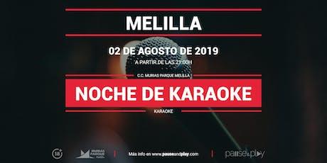 Evento Noche de karaoke en Pause&Play Melilla entradas