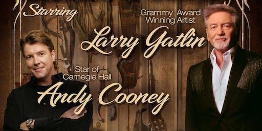 Andy Cooney & Larry Gatlin In Concert