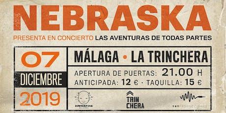 Concierto Nebraska en Malaga entradas