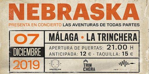Concierto Nebraska en Malaga