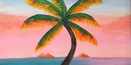 Paint & Sip with 2 jugs for 2 people XXXX Brewery Palm Ocean tickets