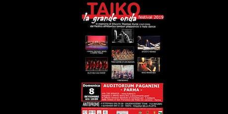 La Grande Onda - Taiko Festival 2019 biglietti