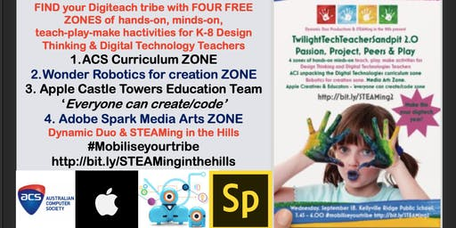 STEAMing in the Hills Twilight Tech Teacher Free Sandpit 2.0