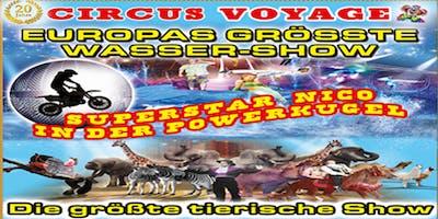 Circus Voyage Familienvorstellungen in Rostock 2019
