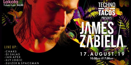 Techno & Tacos with James Zabiela - Bristol tickets