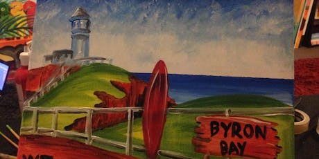 Paint & Sip with 2 jugs for 2 people XXXX Brewery Byron Bay tickets