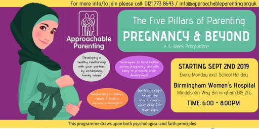 Pregnancy & Beyond: Parenting Programme (Birmingham Women's Hospital)